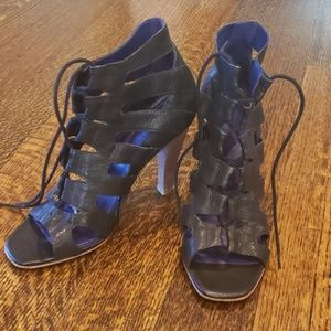 Theory Brianne high lace up gladiator